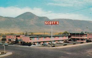 KAMLOOPS , B.C. , Canada , 50-60s ; Scott's Motor Inn