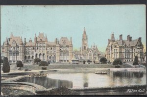 Cheshire Postcard - Eaton Hall, Near Eccleston   RT943