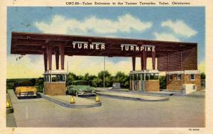 OK - Tulsa. Turner Turnpike, Tulsa Entrance