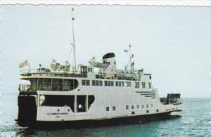 Ferry Le MV GOBLET D´ARGENT , Trois-Pistoles , Quebec , Canada , 50-60s