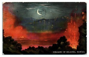 Early 1900s Volcano of Kilauea, Territory of Hawaii Postcard *6J34