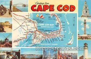 Cape Cod USA 1973 Missing Stamp