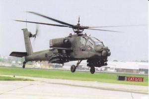 Helicopter in Flight over Landing Pad, PC# 10