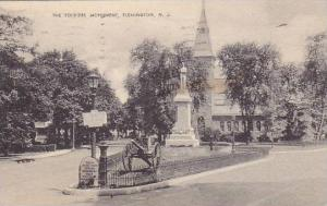 The Soldiers Monument, Flemington, New Jersey, PU-1938