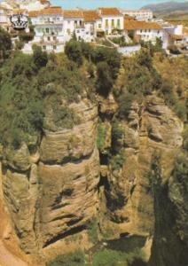 Spain Malaga Ronda Panorama