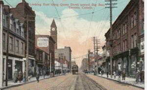 TORONTO , Ontario , 1914 ; Queen Street