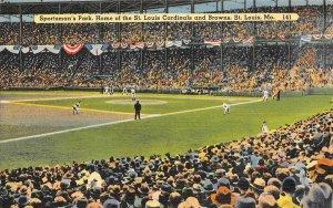 Cardinals & Browns, St. Louis, MO Baseball Don Gutteridge Autograph? Postcard