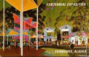 Alaska '67 Centennial Exposition Bartlett Plaza Fairbanks Alaska