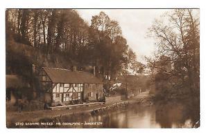 UK Godalming Eashing Houses Surrey England Vtg Judges Sepia Postcard