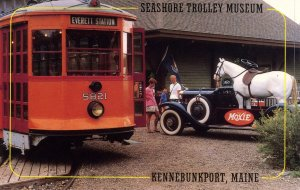 ME - Kennebunkport. Seashore Trolley Museum