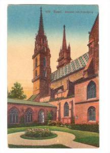Munster Mit Kreuzgang, Basel, Switzerland, 1900-1910s