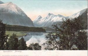Norway Romsdalen Mountain Scene