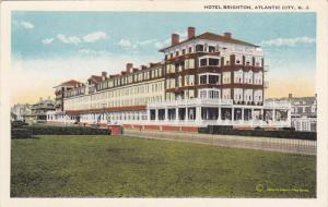 ATLANTIC CITY, New Jersey, 1900-1910's; Hotel Brighton