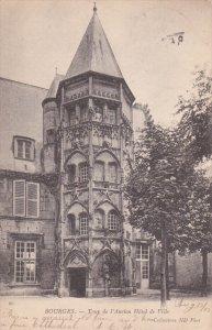 BOURGES, Cher, France, PU-1905; Tour De L'Ancien Hotel De Ville