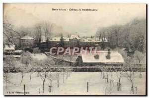 Old Postcard Chateau Wesserling