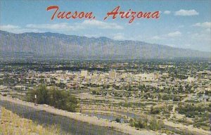 Arizona Tucson Elevation 2450 Looking Over The Metroplitan Area From A Mounta...