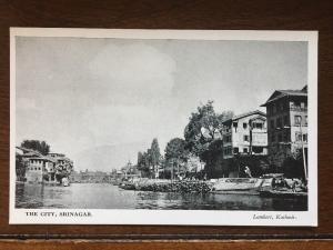 River Scene of City, Srinagar, Lambert, Kashmir, India d9