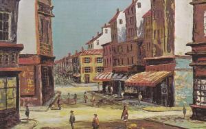 Morris Katz Painting    May In Paris
