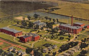 3752 MN Moorhead   Aerial View Moorhead  State Teachers College