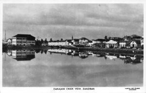 Tanzania Zanzibar Darajani Creek View Postcard