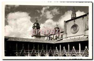 Old Postcard Pamplona Catedral Detalle del Claustro