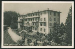 Switzerland Lake Luzerne Burgenstock Resort Alps Das Park Hotel RP Postcard