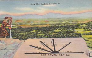 See Sven States Rock City Gardens Lookout Mountain Chattanooga Tennessee