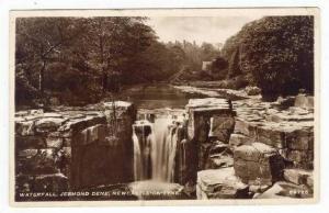 RP  Newcastle upon Tyne , UK, PU-1937 : Waterfall, Jesmond Dene