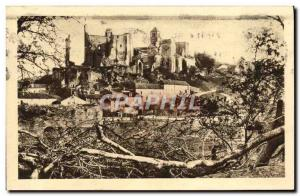 Old Postcard The picturesque Poitou Chauvigny The Baronial Castles and d & # ...