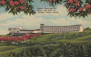 ST THOMAS , Virgin Islands , 1930-40s ; Virgin Isle Hotel , Eastern Approach