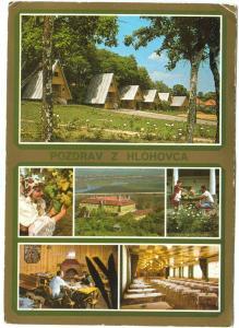 Slovakia, POZDRAV Z HLOHOVCA, 1980 used Postcard