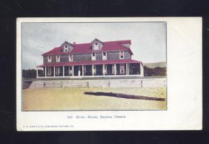 SEASIDE OREGON HOTEL MOORE D.M. AVERILL 535 ANTIQUE VINTAGE POSTCARD