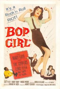 Film Movie Postcard Bop Girl 1957 United Artists HUGE SIZE 205x140mm