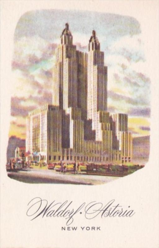 New York City The Waldorf Astoria