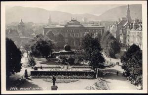 norway norge, BERGEN, Byparken (1920s) RPPC