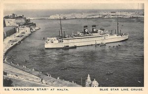 SS Arandora Star Blue Star Line Ship Unused