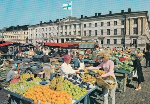 HELSINKI , Finland , 50-70s ; The Market Place