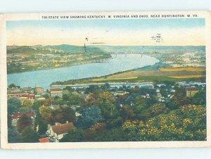 W-border PANORAMIC VIEW Huntington West Virginia WV AF0686