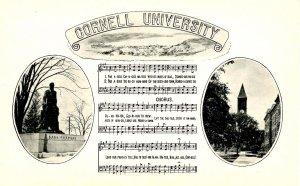 NY - Ithaca. Cornell University, Hail Cornell Alma Mater Anthem