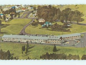 Unused Pre-1980 EDEN ROCK MOTEL IN FREDERICTON New Brunswick NB Canada u6456