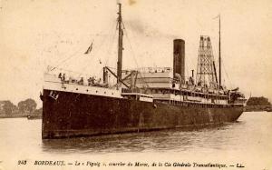 France - Bordeaux.  SS Figuig