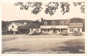 Renfro Valley Kentucky Lodge of Renfro Valley Settlement real photo pc Z11992