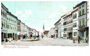 2312 Austria Mattighofen haupiplatz