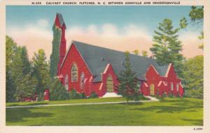 North Carolina Fletcher Cavalry Church