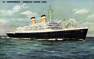 American Export Lines - SS Independence