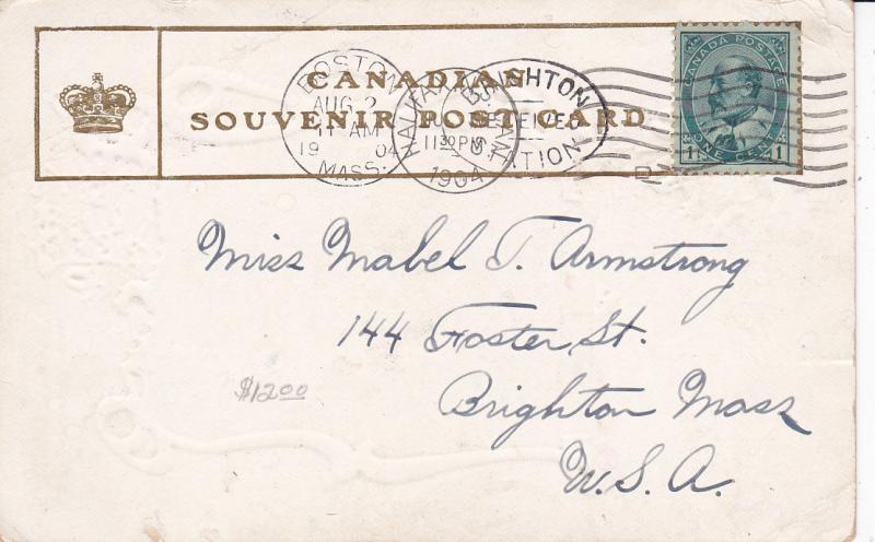 S.A. Fountain, Public Gardens , HALIFAX , Nova Scotia , Canada , PU-1904