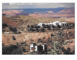 Jerome Arizona Powder Box Church and Douglas Mansion 4 by 6