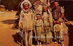 Chief Running Horse and Family Unused