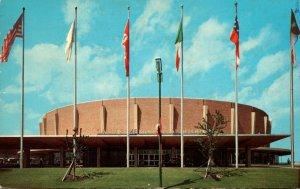 Texas Dallas Entrance View Of New Memorial Auditorium 1971