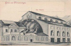 Germany Gruss Aus Oberammergau The Theatre sk4634